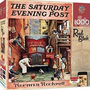 Other - norman rockwell puzzle saturday evening